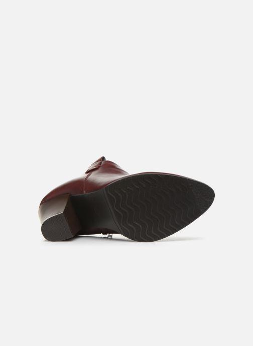 Bottines et boots Initiale Paris Samyr Bordeaux vue haut