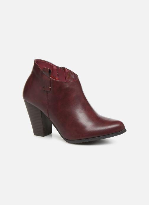 Bottines et boots Initiale Paris Samyr Bordeaux vue détail/paire