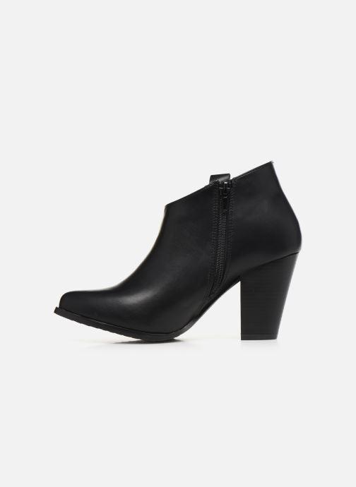 Ankle boots Initiale Paris Samyr Black front view
