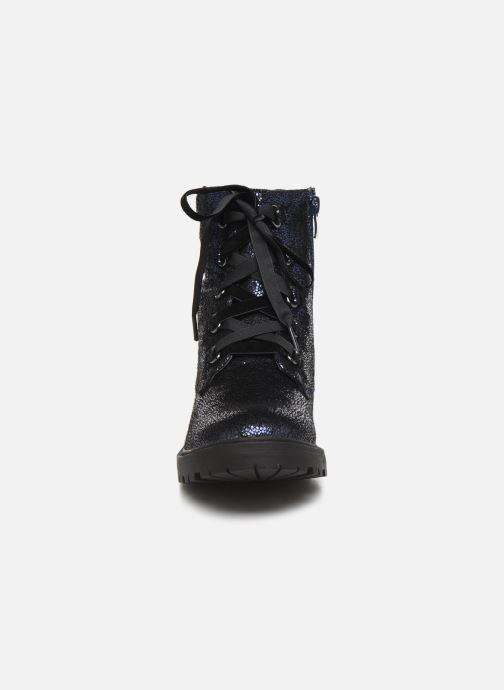 Bottines et boots Initiale Paris Siam Bleu vue portées chaussures