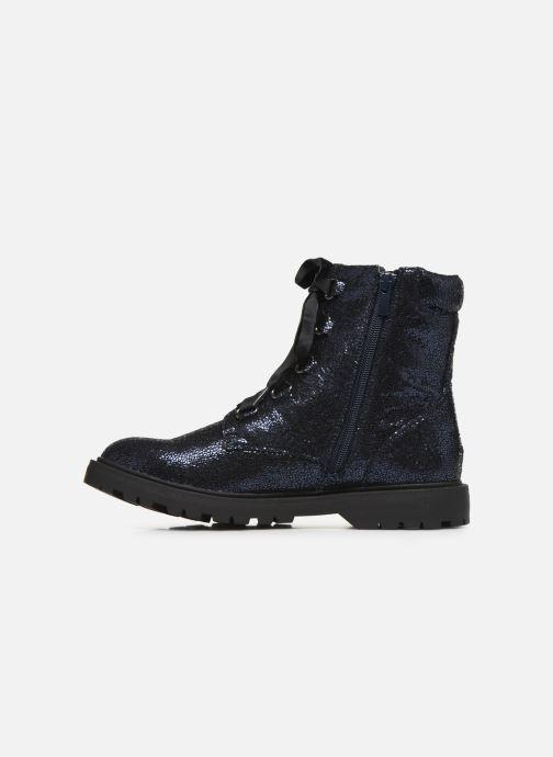 Bottines et boots Initiale Paris Siam Bleu vue face