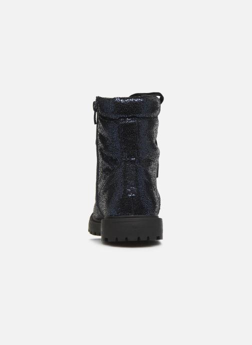 Bottines et boots Initiale Paris Siam Bleu vue droite