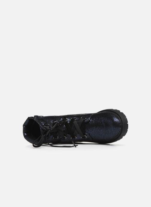 Bottines et boots Initiale Paris Siam Bleu vue gauche
