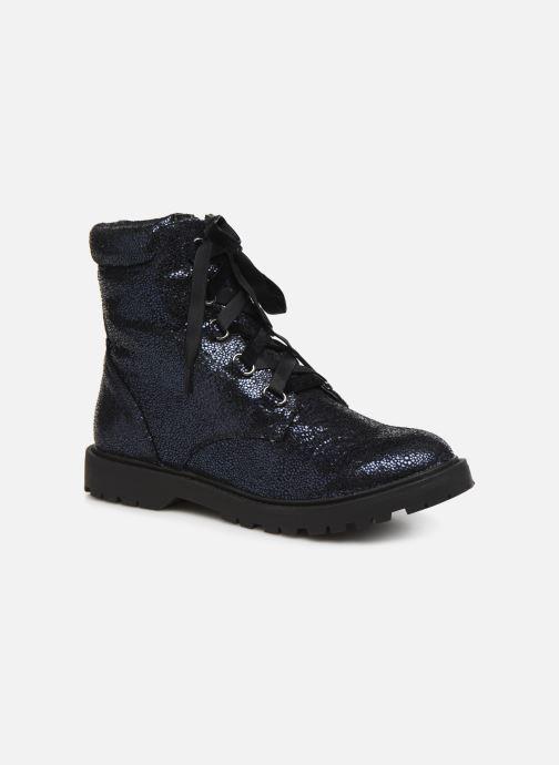 Bottines et boots Initiale Paris Siam Bleu vue détail/paire