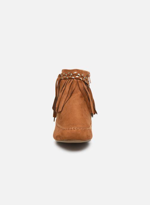 Bottines et boots Initiale Paris Siberien Marron vue portées chaussures