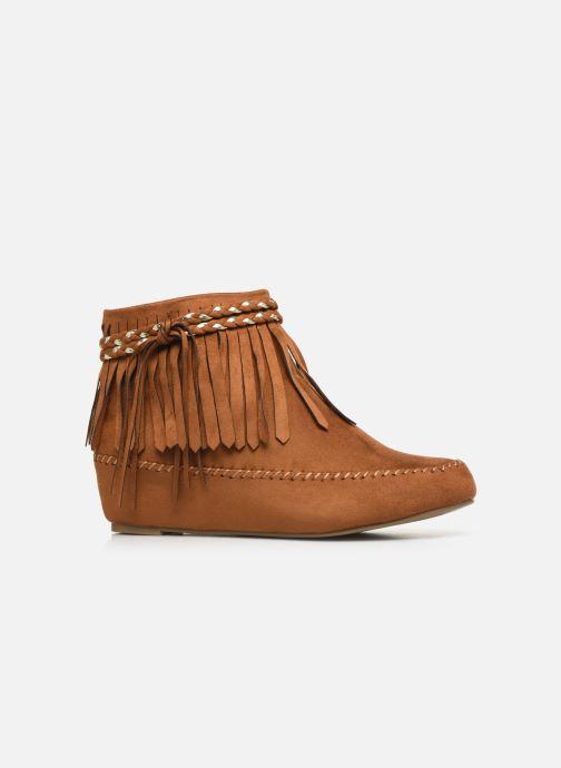 Bottines et boots Initiale Paris Siberien Marron vue derrière