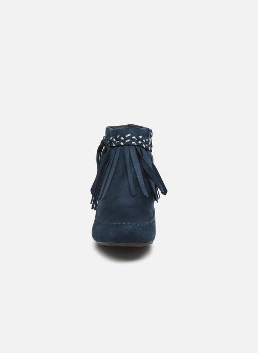 Bottines et boots Initiale Paris Siberien Bleu vue portées chaussures