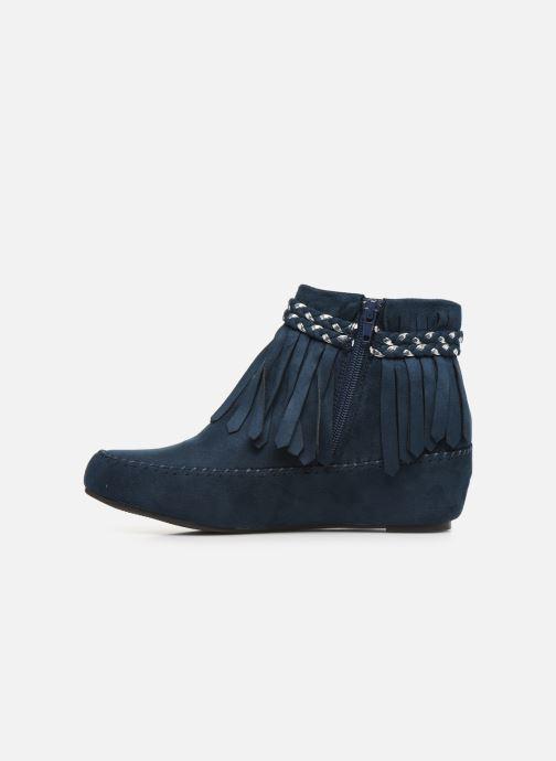 Bottines et boots Initiale Paris Siberien Bleu vue face