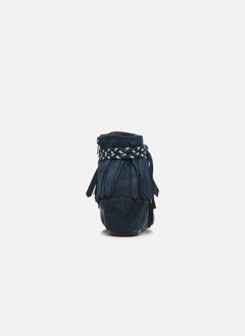 Bottines et boots Initiale Paris Siberien Bleu vue droite