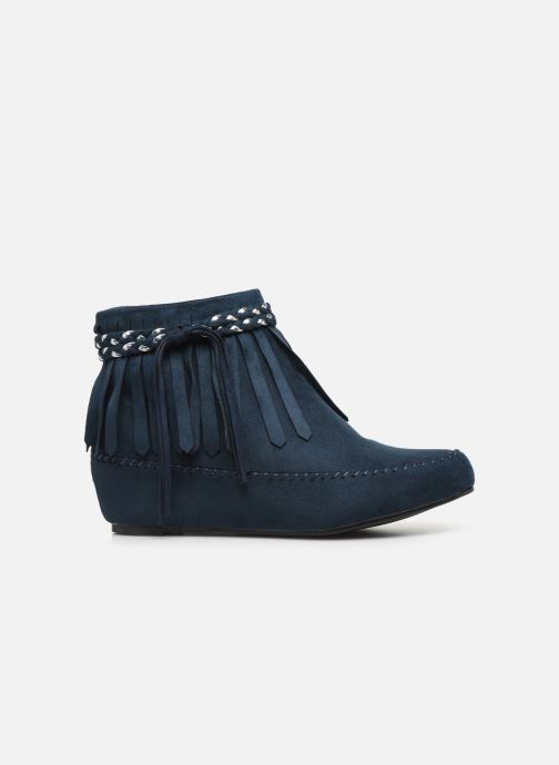 Bottines et boots Initiale Paris Siberien Bleu vue derrière