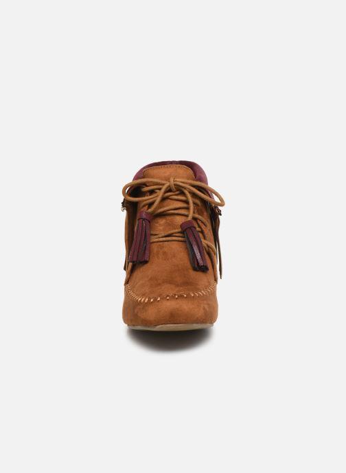 Bottines et boots Initiale Paris Silene Marron vue portées chaussures