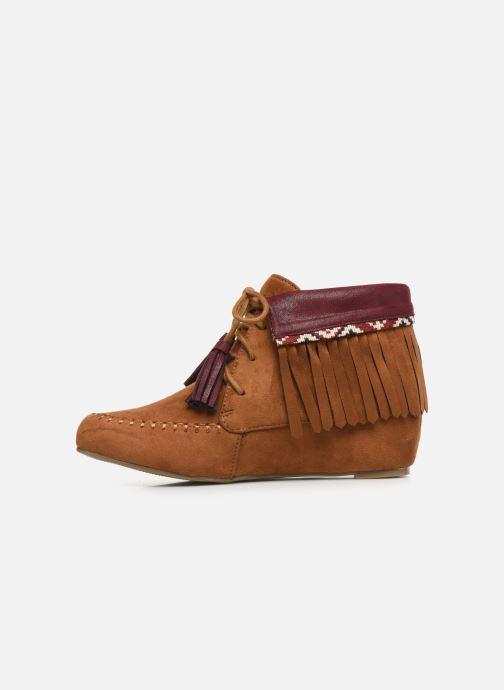 Bottines et boots Initiale Paris Silene Marron vue face