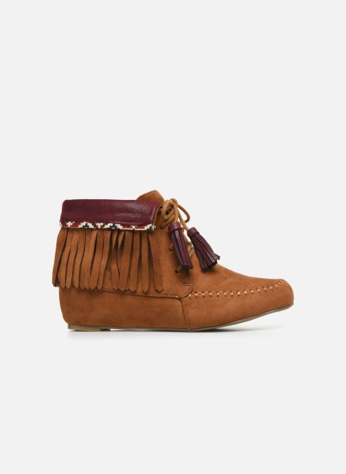 Ankle boots Initiale Paris Silene Brown back view