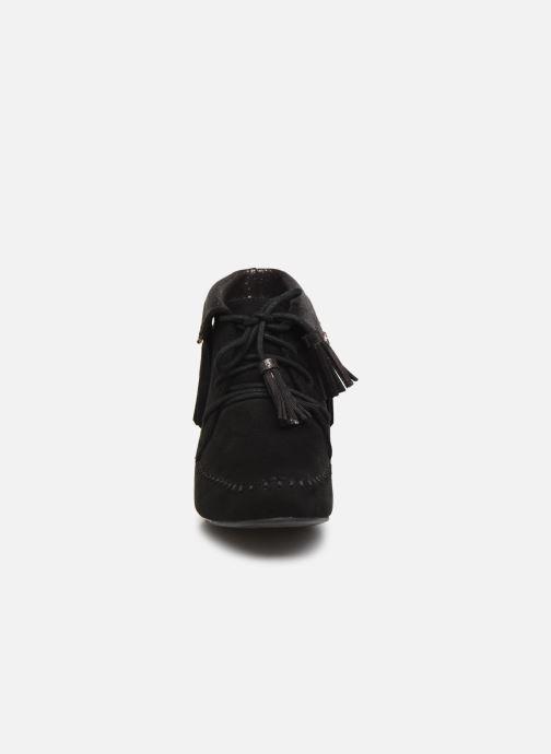 Bottines et boots Initiale Paris Silene Noir vue portées chaussures