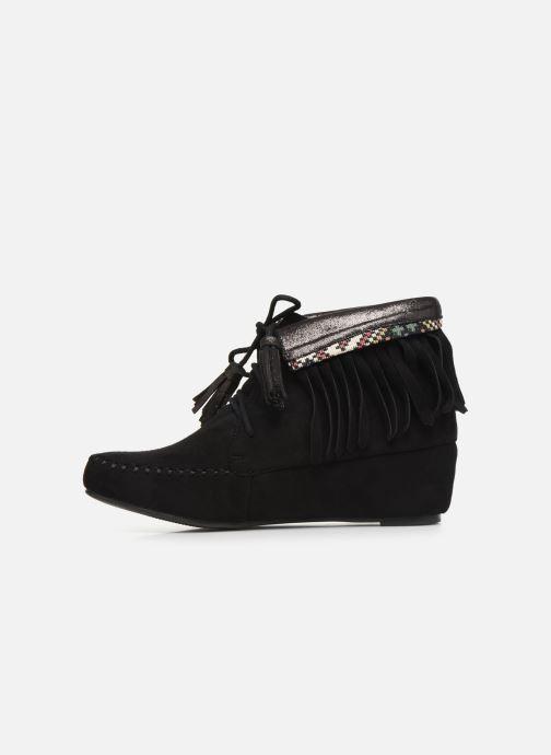 Bottines et boots Initiale Paris Silene Noir vue face