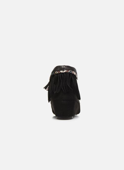 Bottines et boots Initiale Paris Silene Noir vue droite