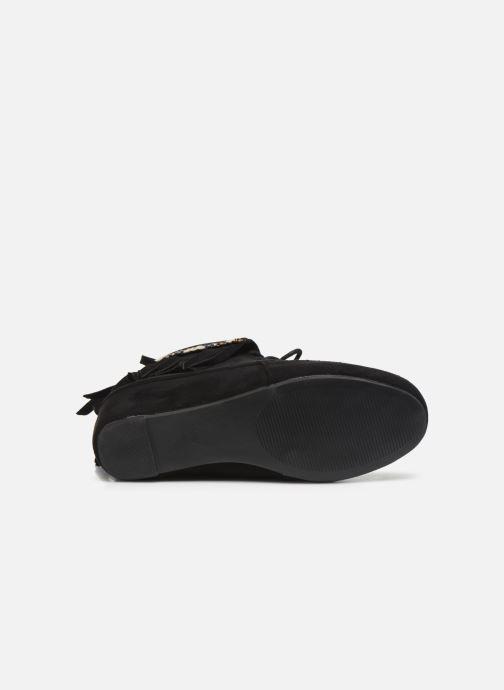 Bottines et boots Initiale Paris Silene Noir vue haut