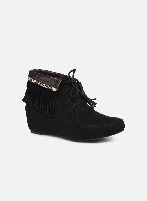 Ankelstøvler Initiale Paris Silene Sort detaljeret billede af skoene