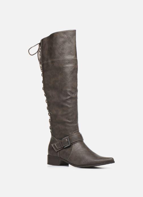 Støvler & gummistøvler Initiale Paris Similar Brun detaljeret billede af skoene