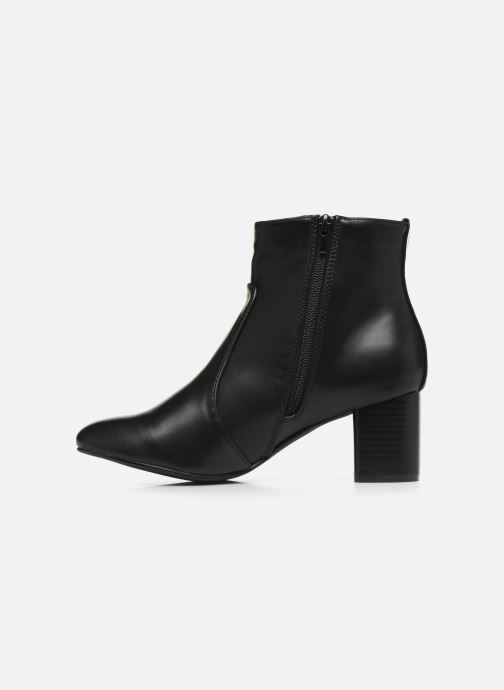 Ankle boots Initiale Paris Spell Black front view