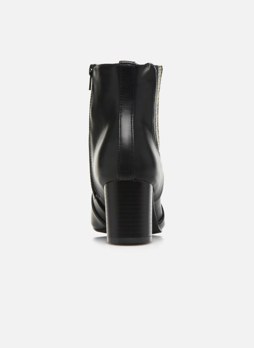Ankle boots Initiale Paris Spell Black view from the right