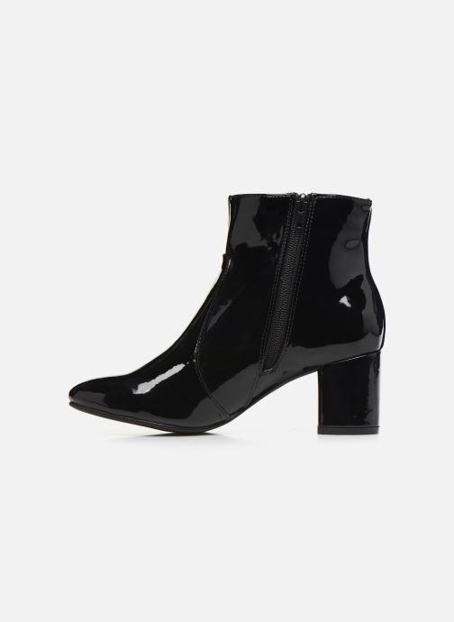 Boots en enkellaarsjes Initiale Paris Spell Zwart voorkant