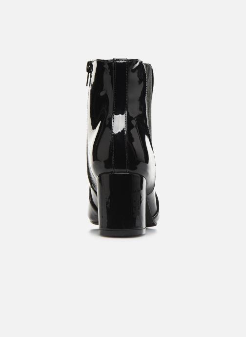 Bottines et boots Initiale Paris Spell Noir vue droite