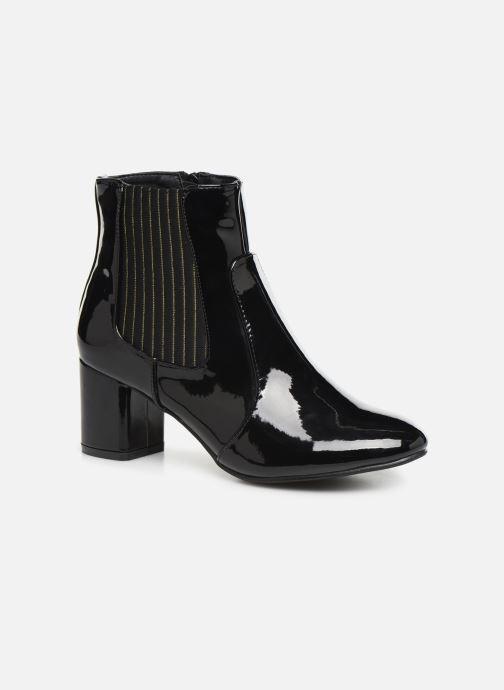 Ankelstøvler Initiale Paris Spell Sort detaljeret billede af skoene