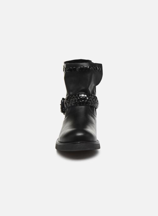 Bottines et boots Initiale Paris Tenice Noir vue portées chaussures
