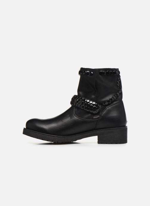 Bottines et boots Initiale Paris Tenice Noir vue face