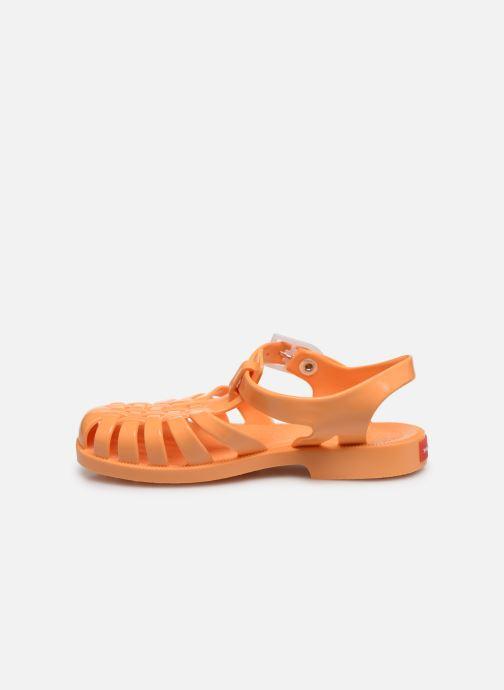 Sandales et nu-pieds Tinycottons Jelly Sandals Orange vue face