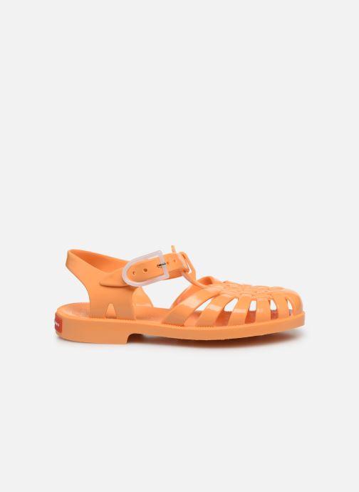 Sandalias Tinycottons Jelly Sandals Naranja vistra trasera