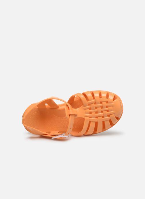 Sandalias Tinycottons Jelly Sandals Naranja vista lateral izquierda