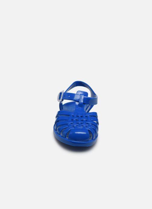 Sandali e scarpe aperte Tinycottons Jelly Sandals Azzurro modello indossato