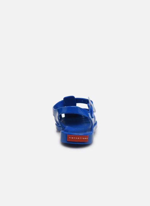Sandalen Tinycottons Jelly Sandals blau ansicht von rechts