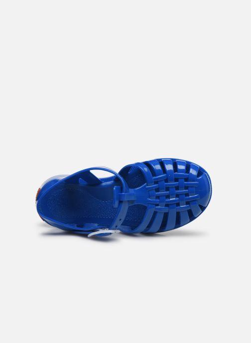 Sandalen Tinycottons Jelly Sandals blau ansicht von links