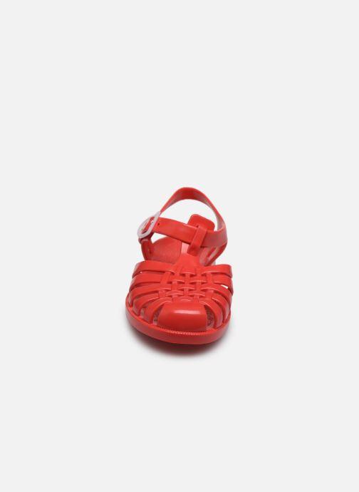 Sandales et nu-pieds Tinycottons Jelly Sandals Rouge vue portées chaussures