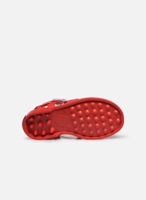 Sandales et nu-pieds Tinycottons Jelly Sandals Rouge vue haut