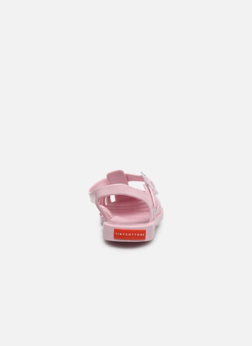 Sandalias Tinycottons Jelly Sandals Rosa vista lateral derecha