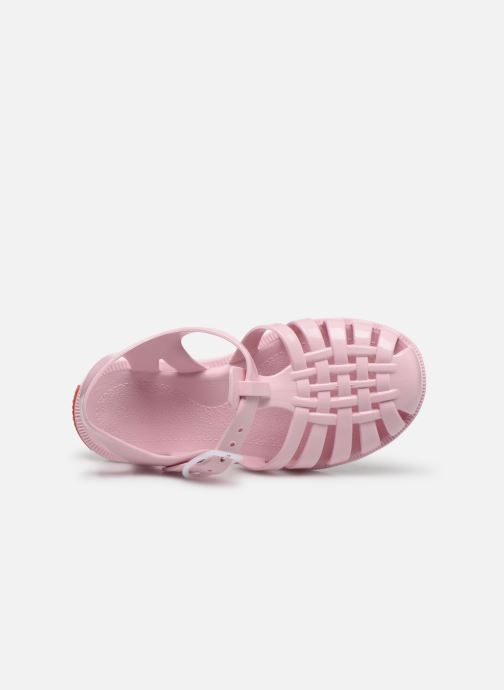 Sandalen Tinycottons Jelly Sandals rosa ansicht von links