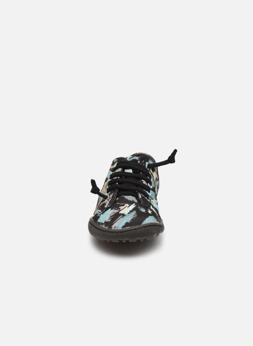 Baskets Camper Twins K200587 Noir vue portées chaussures