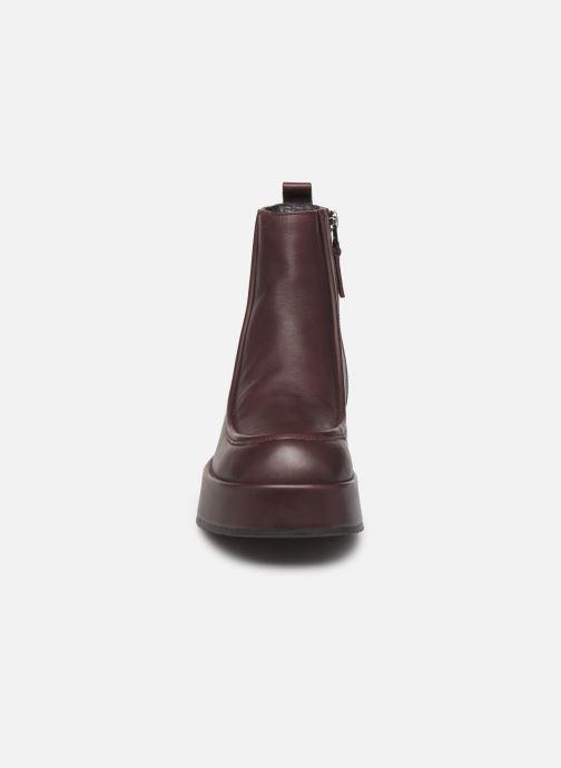 Bottines et boots Camper Wilma K400129 Bordeaux vue portées chaussures