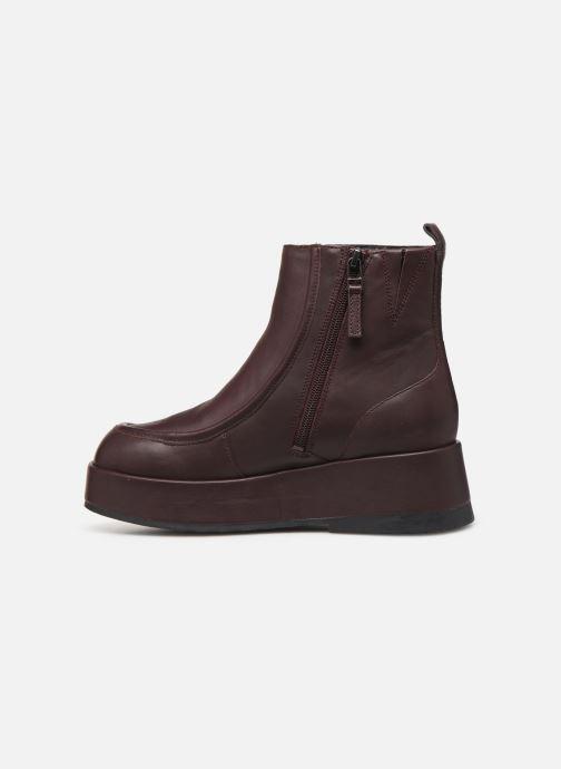 Bottines et boots Camper Wilma K400129 Bordeaux vue face
