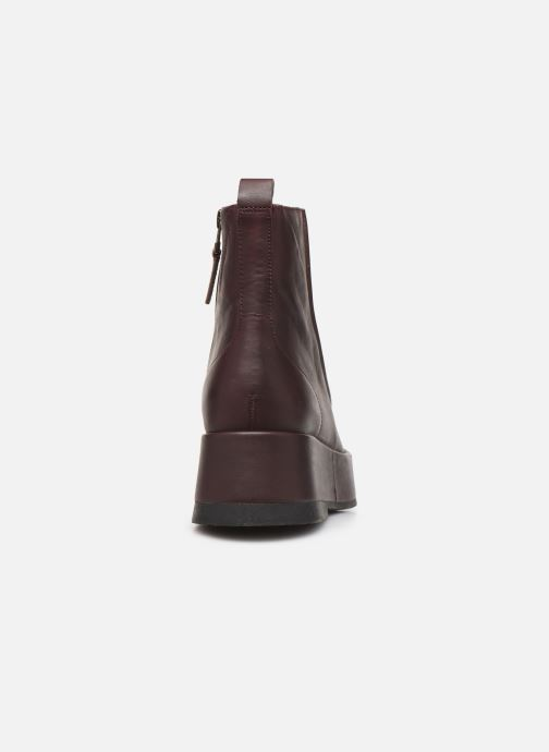 Bottines et boots Camper Wilma K400129 Bordeaux vue droite