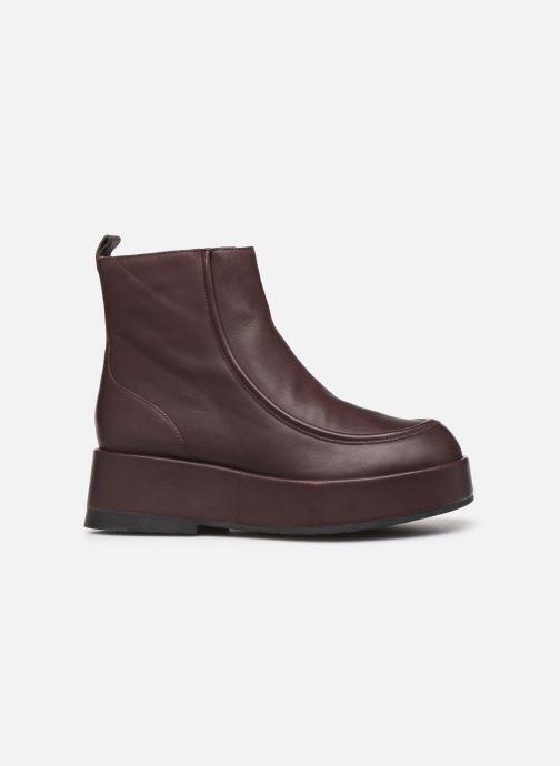 Bottines et boots Camper Wilma K400129 Bordeaux vue derrière