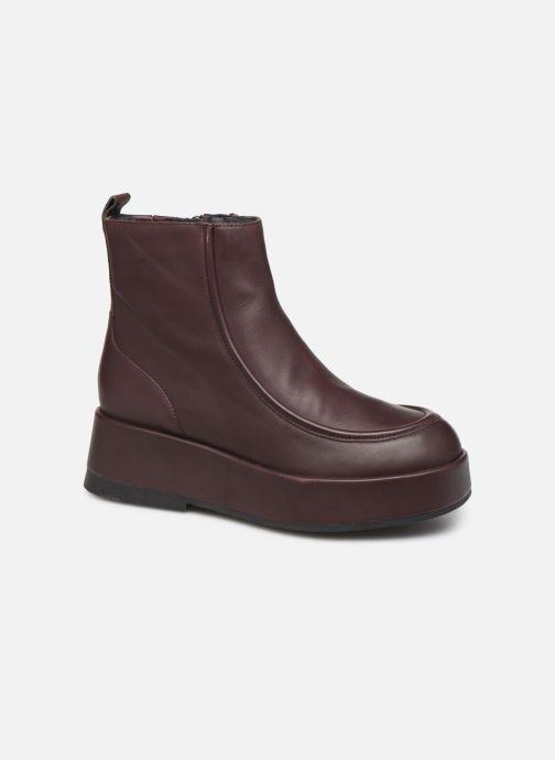 Bottines et boots Camper Wilma K400129 Bordeaux vue détail/paire