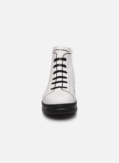 Ankle boots Camper Twins K400276 White model view