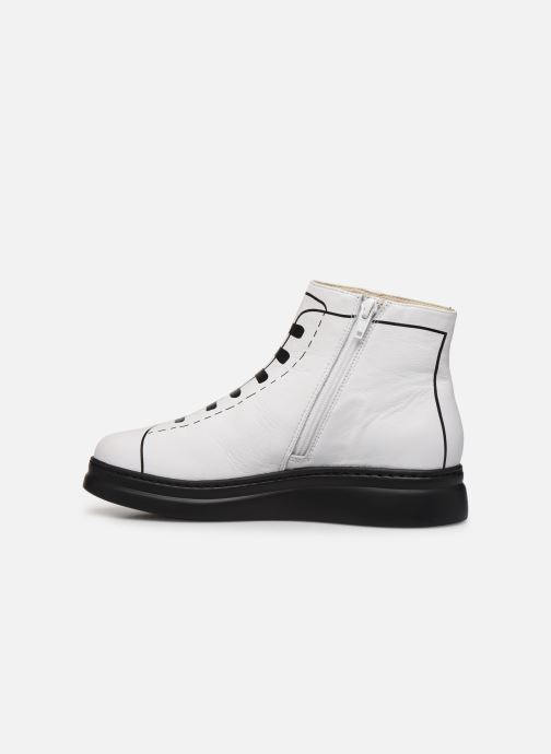Ankle boots Camper Twins K400276 White front view