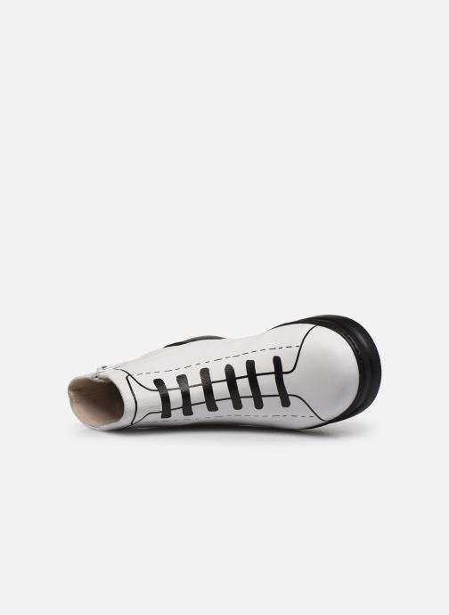 Boots en enkellaarsjes Camper Twins K400276 Wit links