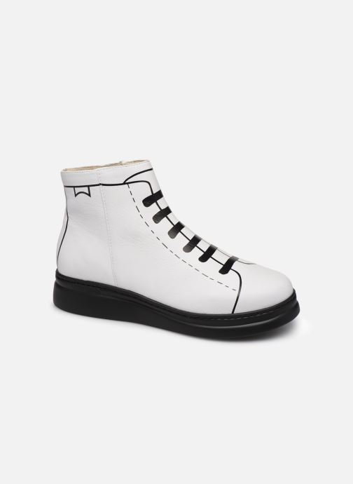 Ankle boots Camper Twins K400276 White detailed view/ Pair view